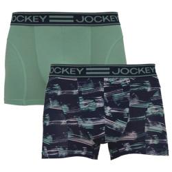 2PACK pánské boxerky Jockey vícebarevné (19902928 43B)