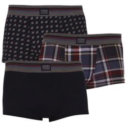 3PACK pánské boxerky Jockey vícebarevné (17302913 374)