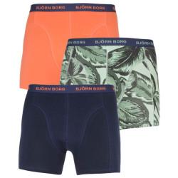 3PACK pánské boxerky Bjorn Borg vícebarevné (2111-1159-81511)