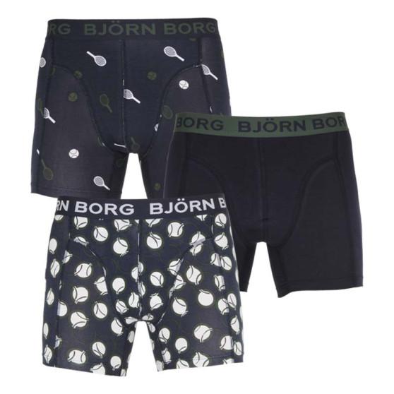 3PACK pánské boxerky Bjorn Borg vícebarevné (2111-1077-72731)