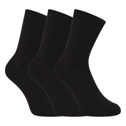 3PACK ponožky Under Armour černé (1358345 001)