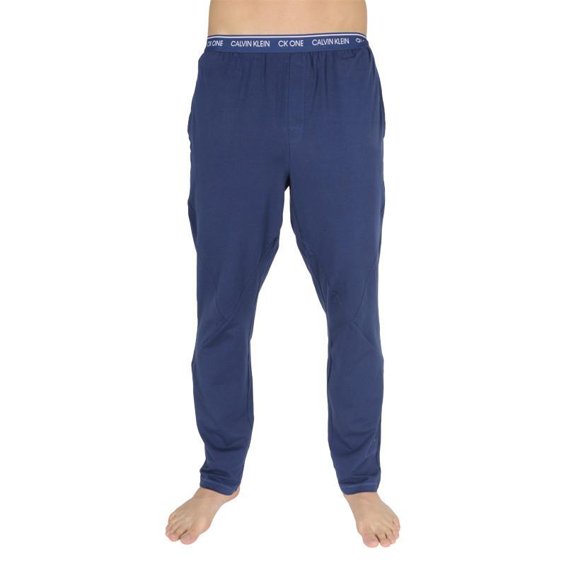 Pánské kalhoty na spaní CK ONE modré (NM1796E-C5F) M