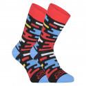 Veselé ponožky Styx vysoké Flat (H1154)