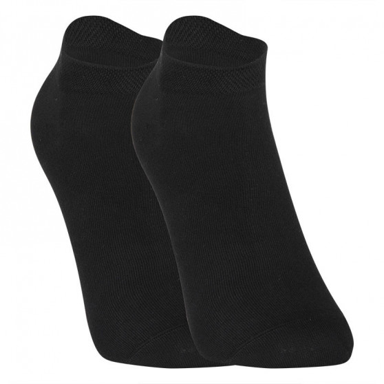 3PACK ponožky Styx nízké bambusové černé (3HBN960)