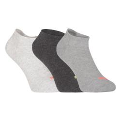 3PACK ponožky Puma šedé (261080001 017)