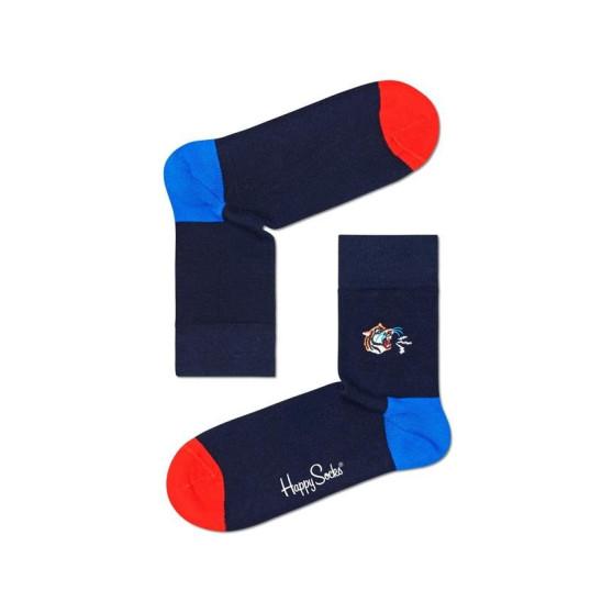 Ponožky Happy Socks Embroidery Tiger (BETI13-6500)