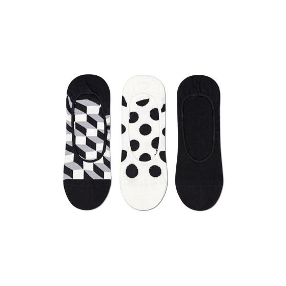 3PACK Ponožky Happy Socks Filled Dot Liner (FIL18-9100)