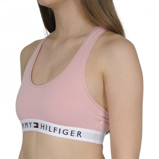 Dámská podprsenka Tommy Hilfiger růžová (UW0UW02037 TMJ)