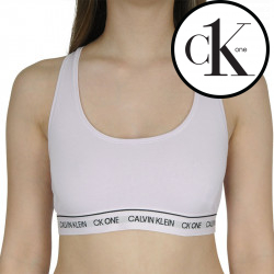Dámská podprsenka CK ONE fialová (QF5939E-VOU)