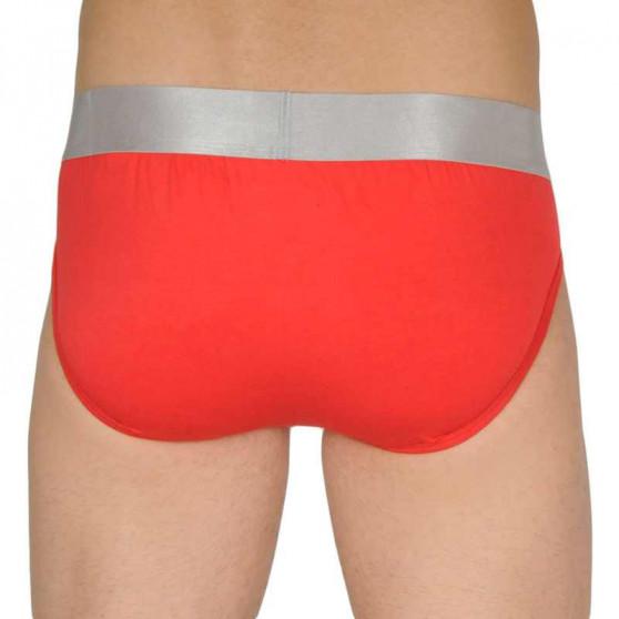 3PACK pánské slipy Calvin Klein vícebarevné (NB2452A-KHX)