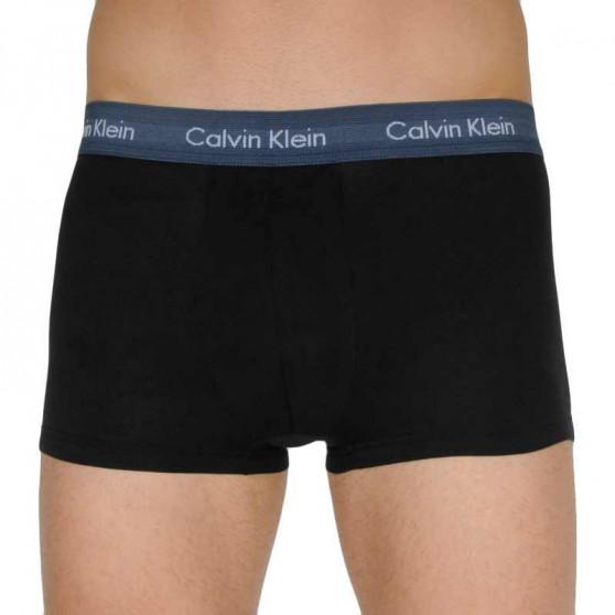 3PACK pánské boxerky Calvin Klein černé (U2664G-MC0)