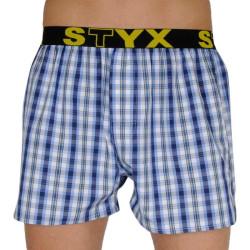 Pánské trenky Styx sportovní guma vícebarevné (B106)