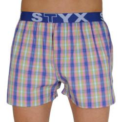 Pánské trenky Styx sportovní guma vícebarevné (B108)