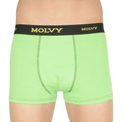 Pánské boxerky Molvy zelené (MP-1037-BEU)