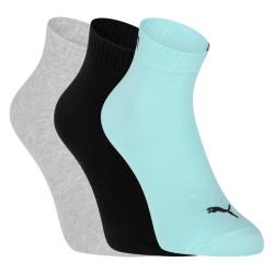 3PACK ponožky Puma vícebarevné (271080001 014)