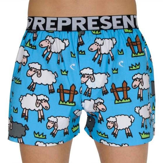 Pánské trenky Represent exclusive Mike black sheep
