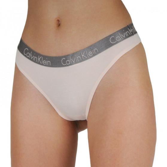 3PACK dámská tanga Calvin Klein vícebarevná (QD3560E-T7W)