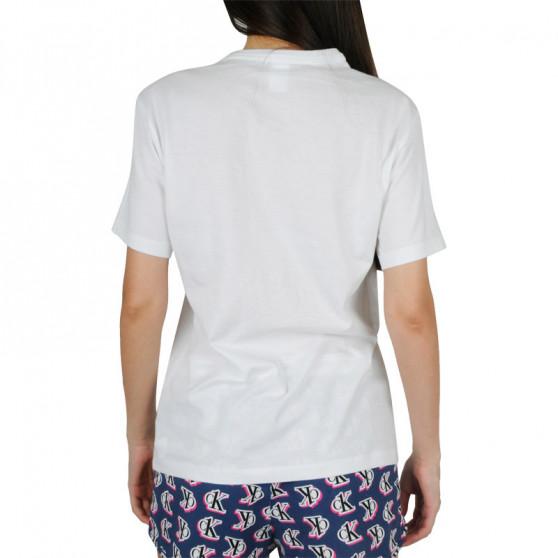 Dámské tričko Calvin Klein bílé (QS6105E-SWI)