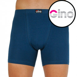 Pánské boxerky Gino modré (74129)