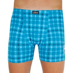 Pánské boxerky Gino modré (74114)