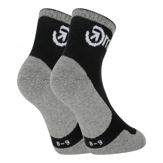 3PACK ponožky Meatfly vícebarevné (Middle Grey)
