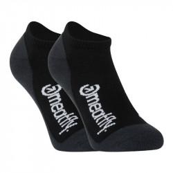 3PACK ponožky Meatfly vícebarevné (Boot Black)