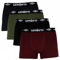 4PACK pánské boxerky Umbro vícebarevné (UMUM0316)