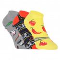 3PACK veselé ponožky Lonka vícebarevné (Dedon mix C)