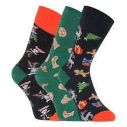 3PACK veselé ponožky Lonka vícebarevné (Debox mix B)