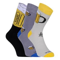 3PACK ponožky VoXX vícebarvné (PiVoXX mix 2)