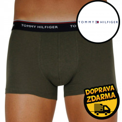 3PACK pánské boxerky Tommy Hilfiger vícebarevná (1U87903842 0V0)
