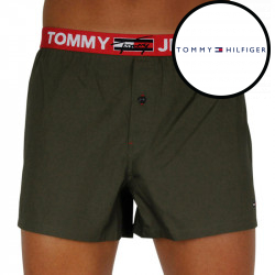Pánské trenky Tommy Hilfiger tmavě zelené (UM0UM02180 RBN)