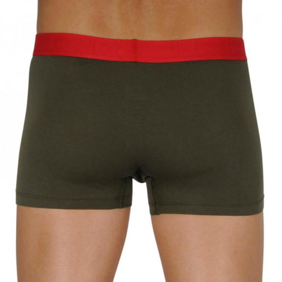 Pánské boxerky Tommy Hilfiger tmavě zelené (UM0UM02178 RBN)