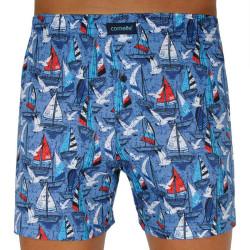 Pánské trenky Cornette Classic modré (001/104)