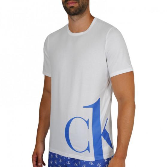 Pánské tričko Calvin Klein bílé (NM1904E-KLO)