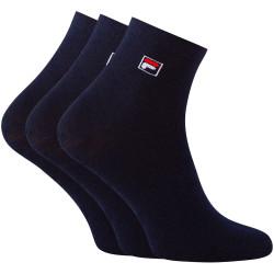 3PACK ponožky Fila modré (F9303-321)