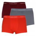 3PACK pánské boxerky Calvin Klein vícebarevné (U2664G-JJB)