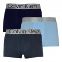 3PACK pánské boxerky Calvin Klein vícebarevné (NB2453A-KHW)