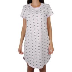 Dámská noční košile CK ONE růžová (QS6358E-IWW)