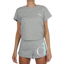 Dámské pyžamo CK ONE šedé (QS6443E-JQ6)