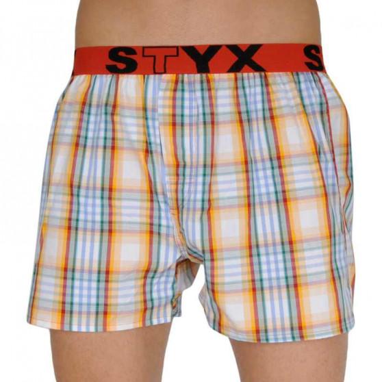 10PACK pánské trenky Styx sportovní guma (B101234567802)
