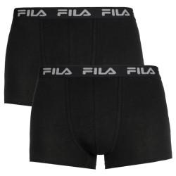 2PACK pánské boxerky Fila černé (FU5004/2-200)