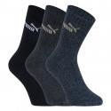 3PACK ponožky Puma vícebarevné (241005001 321)