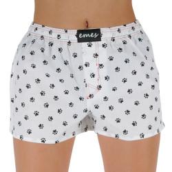 Dámské trenky Emes černé tlapky (037)