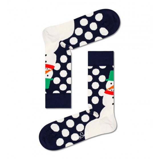 Ponožky Happy Socks Jumbo Snowman Sock (JSS01-6500)