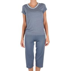 Dámské pyžamo Cocoon Secret modré (COC3071-KK)