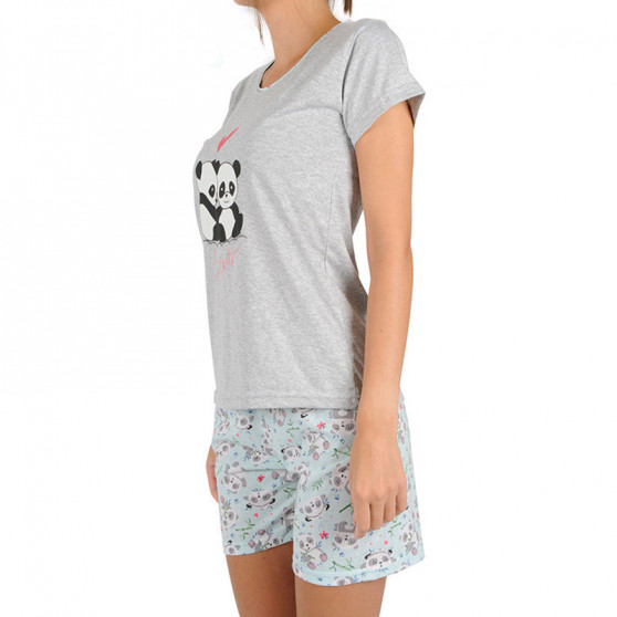 Dámské pyžamo La Penna šedé (LAP-Y-15252)