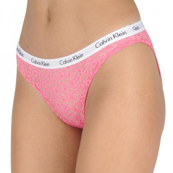 Dámské kalhotky Calvin Klein růžové (QD3860E-THV)