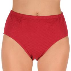 Dámské kalhotky Andrie nadrozměr červené (PS 2546 C)
