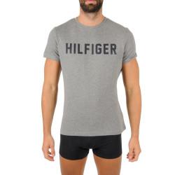 Pánské tričko Tommy Hilfiger šedé (UM0UM02011 PG5)